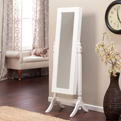 Tilting Jewelry Armoire