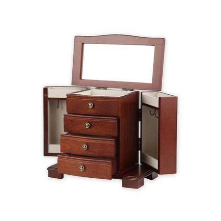 Dresser Top Jewelry Armoire Type