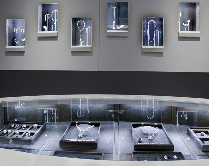display case lighting joaillerie