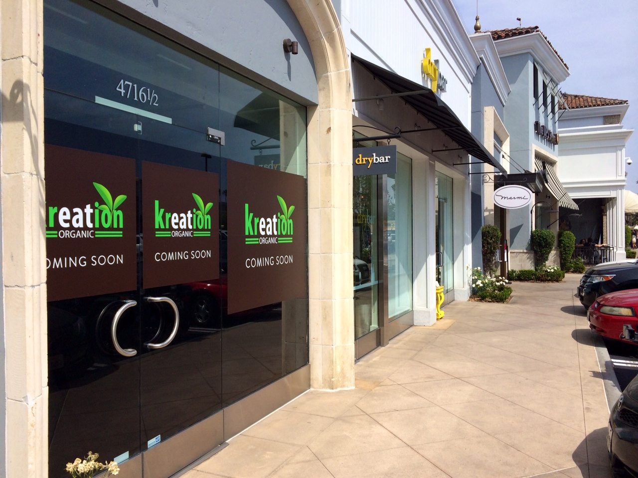 Storefront Window Display by Kreation Juice - Green, Natural Theme