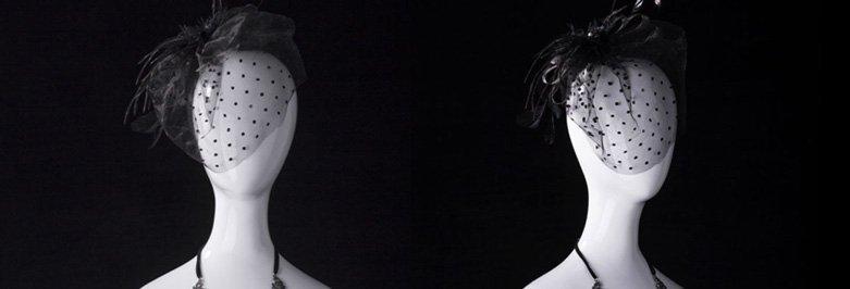 Beautiful Jewelry Display Mannequin Heads