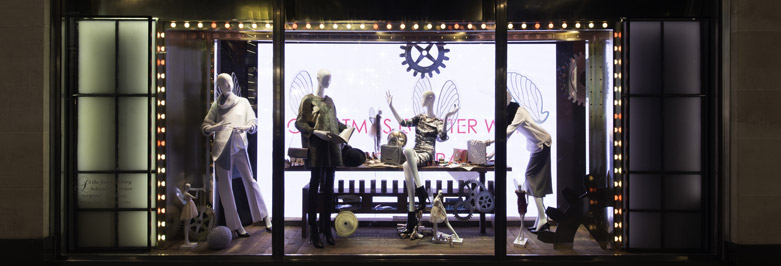Novelty in window display design