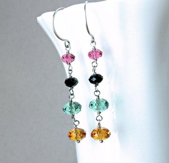 colorful-earrings