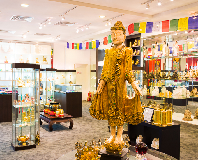 Statue of Buddha In A Store