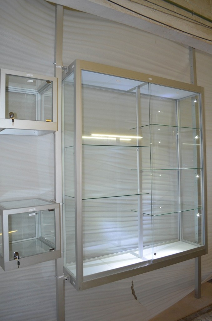 Museum Style Jewelry Display Cases