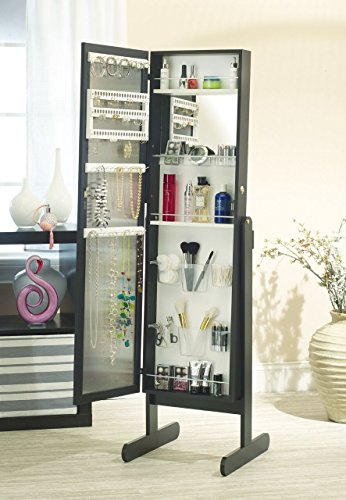 Mirrotek Jewelry And Makeup Armoire