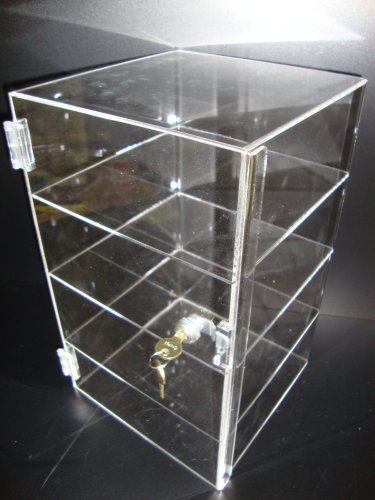 Show case ACRYLIC DISPLAY clear with Accessories