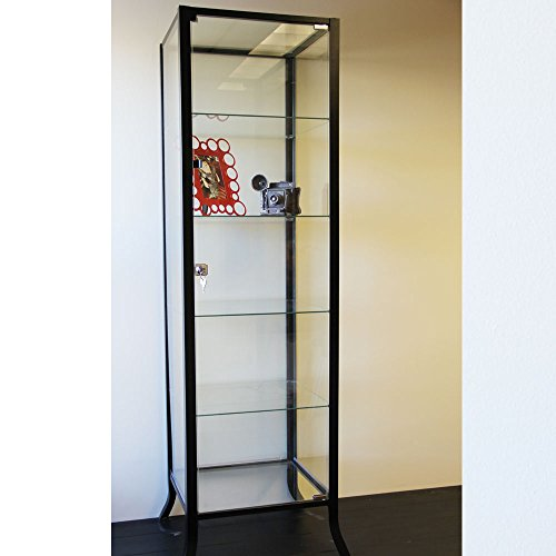 Curio Cabinet Display With Gl Door