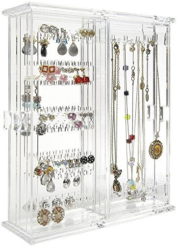 Arad Earring Organizer Necklace Holder Jewelry Organizer Bracelet Storage Jewelry Holder Jewelry Storage Plastic Jewelry Hanger Fine Jewelry Organization Zen Merchandiser
