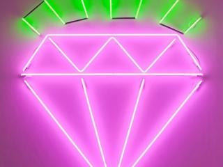 Neon Diamond by Dylan Neuwirth