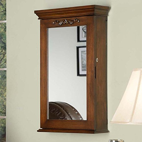 Morris Locking Wall Armoire 19 5w X 32h In Zen