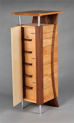 Abstract jewelry armoire
