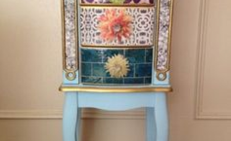 Unconventional jewelry armoire