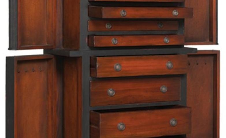 giant jewelry armoire style guru fashion glitz. Black Bedroom Furniture Sets. Home Design Ideas