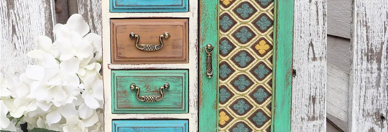 Jewelry Armoire Colors & Finishes