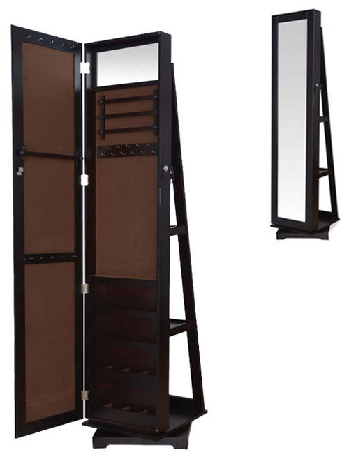 Jewelry Armoire with Shelves