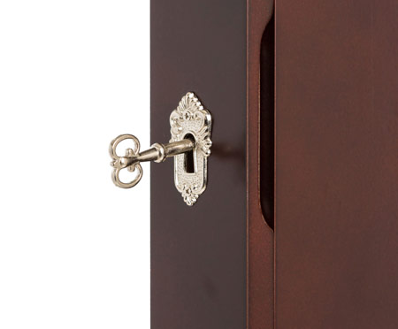 Lockable Jewelry Armoire