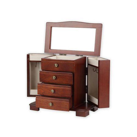Dresser Top Jewelry Armoire Type