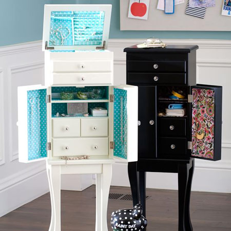 Floor / Free Standing Jewelry Armoire Type #1