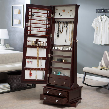 Floor / Free Standing Jewelry Armoire Type #2