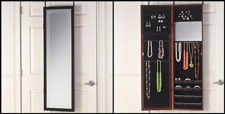 Over The Door Jewelry Armoire Type