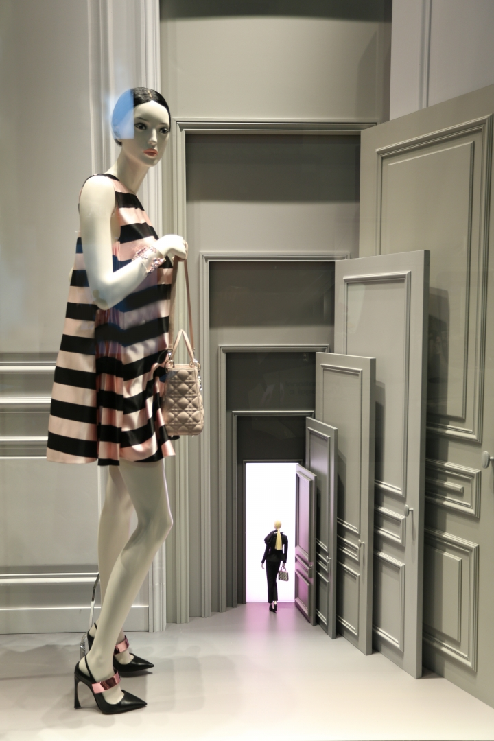 Dior spring window display London
