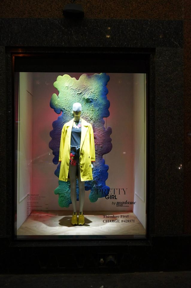 Artistic spring window galeries lafayette