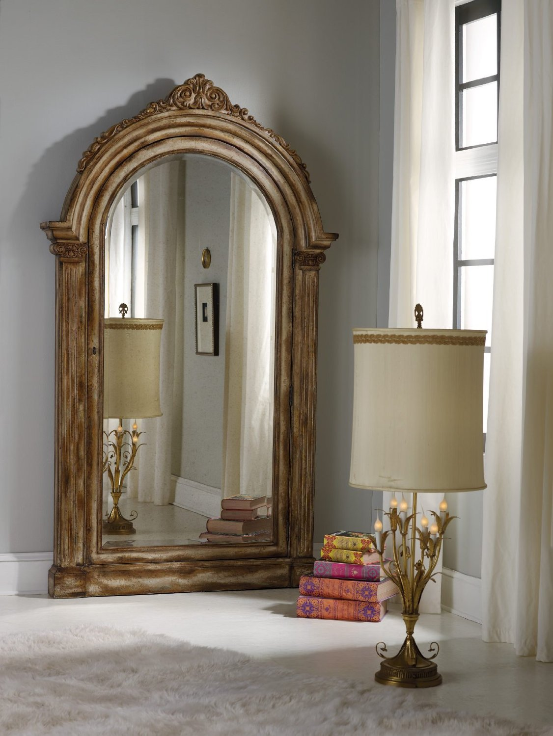 Melange Premium Mirror Jewelry Storage