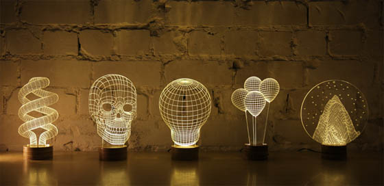 10.types-of-fixtures-creative-lamp-design