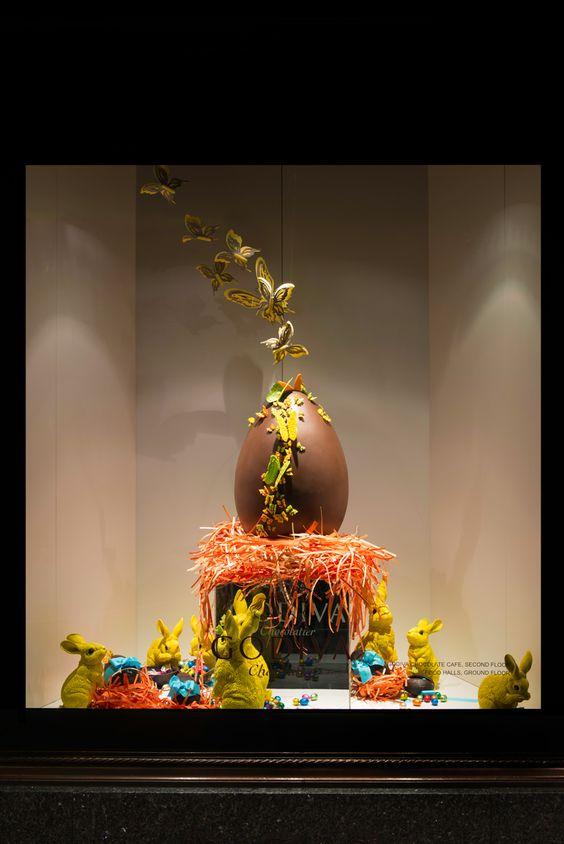 Harrods Easter Window Display