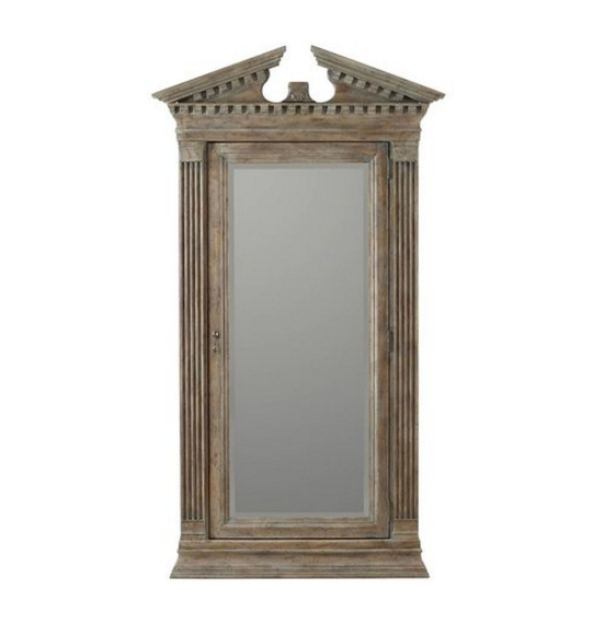 Hooker - Premium Floor Jewelry Armoire with Mirror