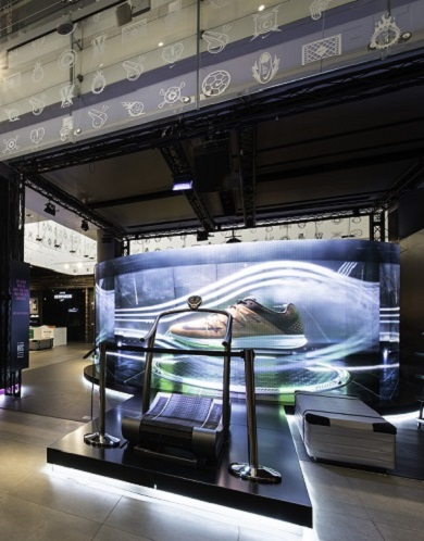 Nike Store Design by Millington Associates