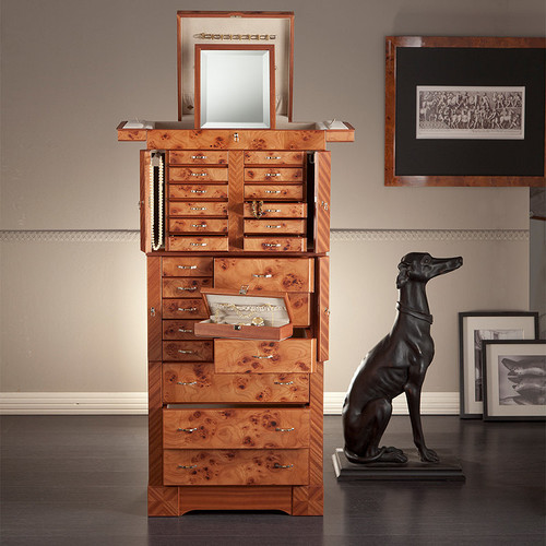 Agresti Briarwood Premium Jewelry Armoire