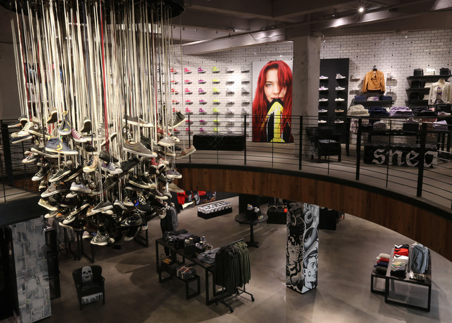 7.types-of-fixtures-converse-chandelier-creative-retail-lighting-design