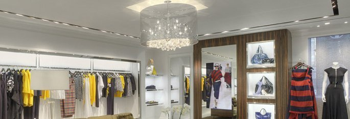 Types of Lighting Fixtures for Stores