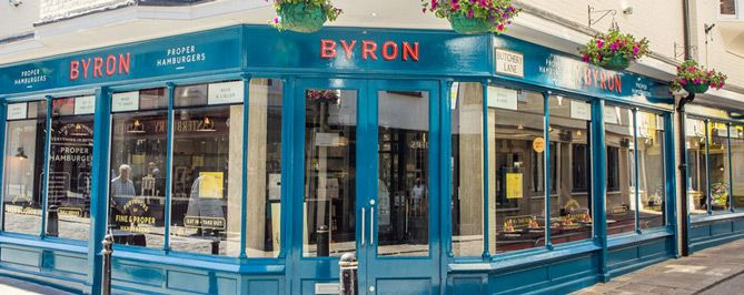 Byron - Creative Store Signage Design