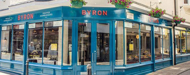 Byron - Creative Store Signage Design