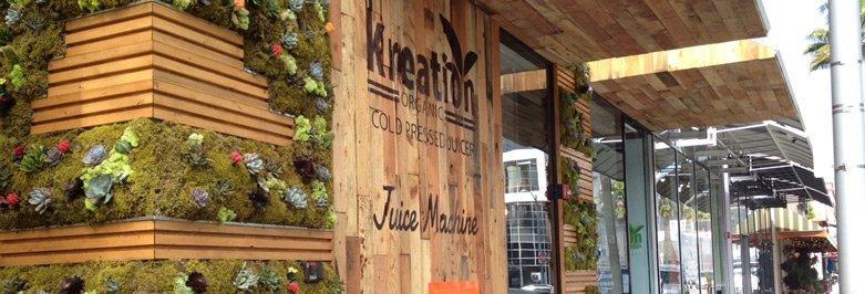 Juice Store Storefront Design - Kreativ - Natural Theme