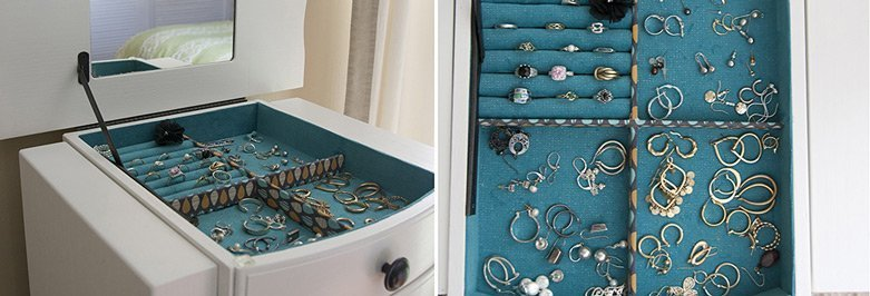Dresser Top Jewelry Armoire The Best Jewelry 2018