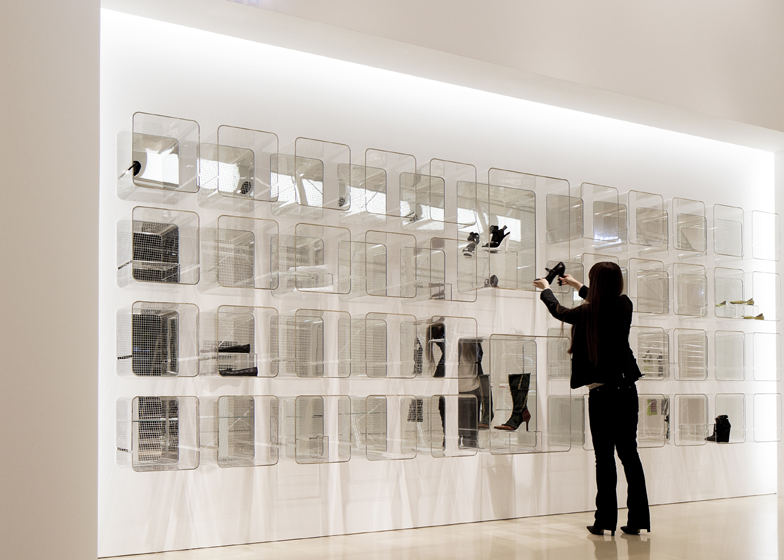 Ciel Bleu - Minimalist Industrial Store Design
