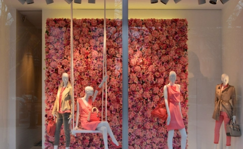 An abundance of soft pink invades the senses in this spring collection from Eickhoff.