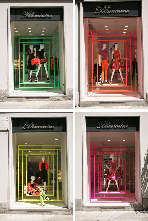 Visual Merchandising Amp Window Display Ideas From Italy Zen