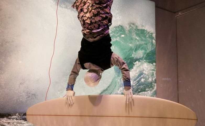 Selfridges went with the extreme sports theme for their 2014 Spring display in London.
