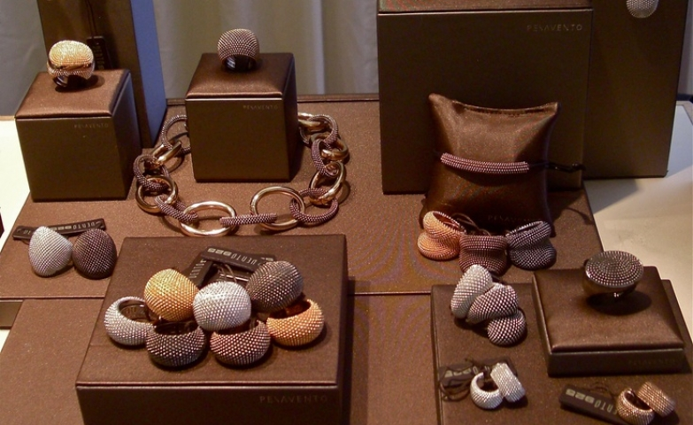 Great inspiration from this beautiful range of Pesavento jewellery by Nigel Milne, display at  Picadilly London Jewellery.