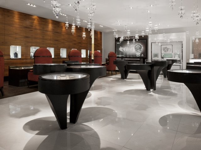 jewellery shop interior design ideas s where do interior designers shop Berani Jewelry displays modern and elegant design for a jewelry store .  Betsy u0026 Iya interior ...