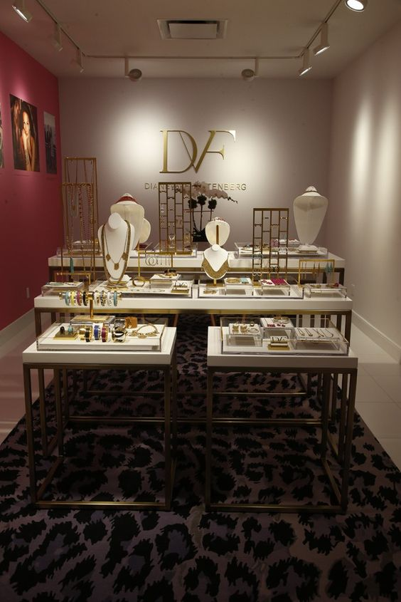 Diane von Furstenberg launches a premium fashion jewelry store and this is what it looks like.