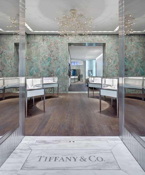 "The Association for Retail Environments gave Tiffany & Co the ""Store of the year"" award for this gem."