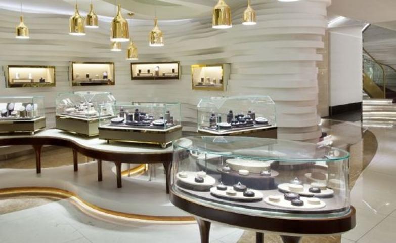 100 beautiful jewelry store designs zen merchandiser for Jewellery interior designs