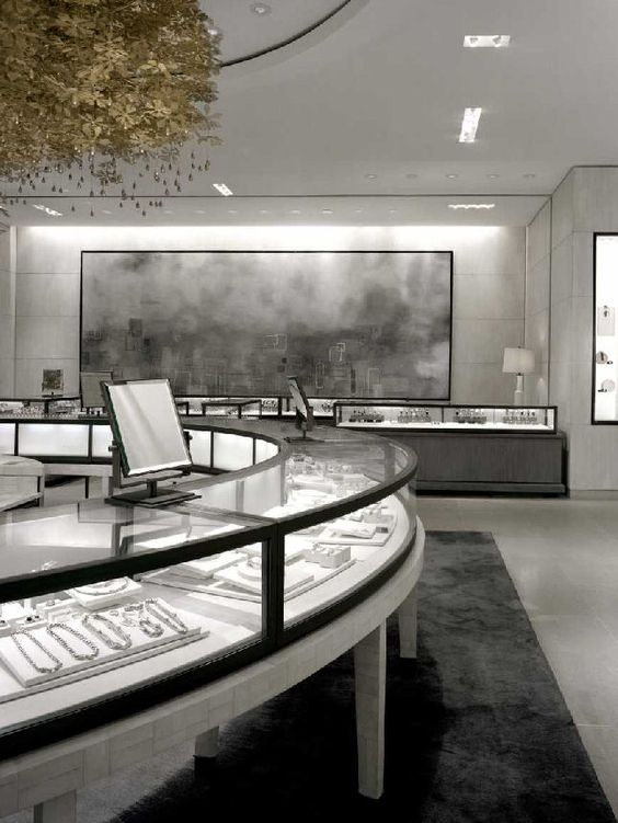 Although it might seem cold, the design of this interior is just stunning - Holt Renfrew, Burdifilek.