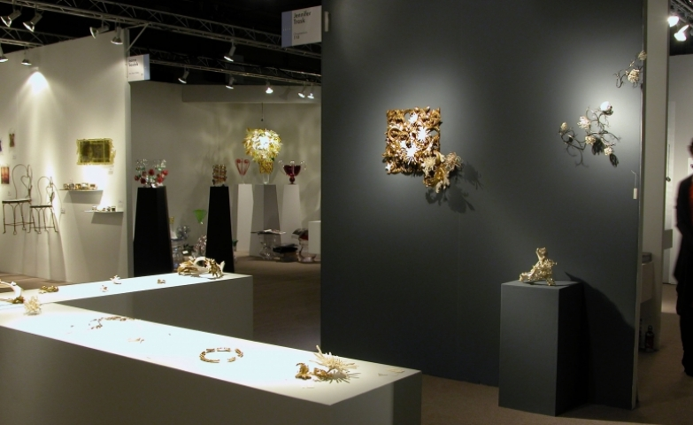 "Jewelry pieces display from Jennifer Trask's  breathtaking ""Vestige"" exhibition."